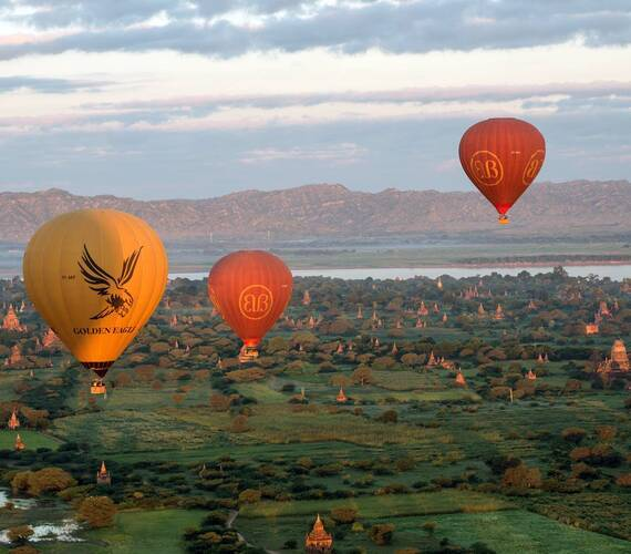 Belmond Road to Mandalay Myanmar Montgolfieres