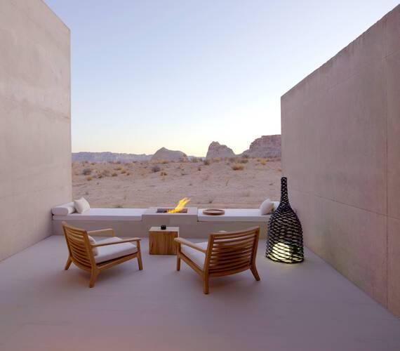 Amangiri Suite Desert Lounge Etats Unis