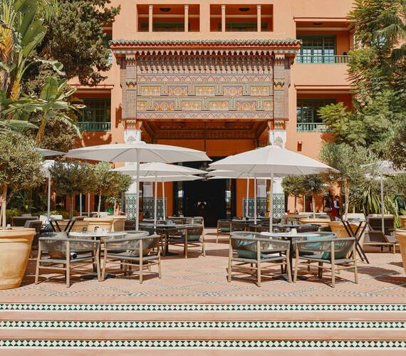 La Mamounia Marrakech Bar Italien