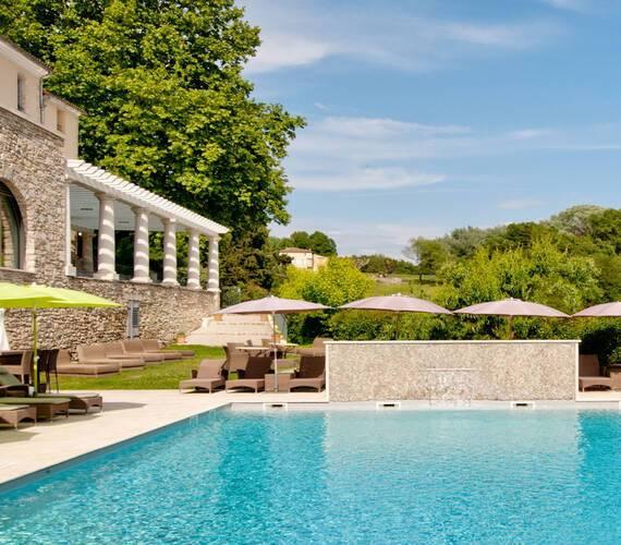 Couvent des Minimes Provence piscine