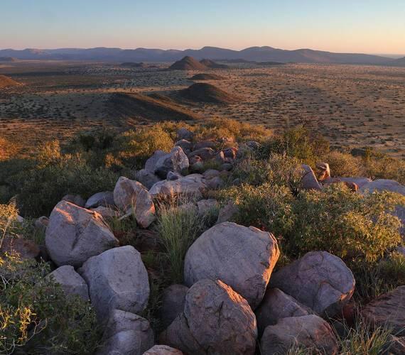 Tswalu Reserve Motse Afrique Sud Paysage