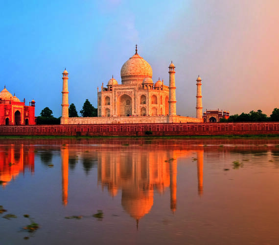 Agra Taj Mahal Inde Boris Stroujko