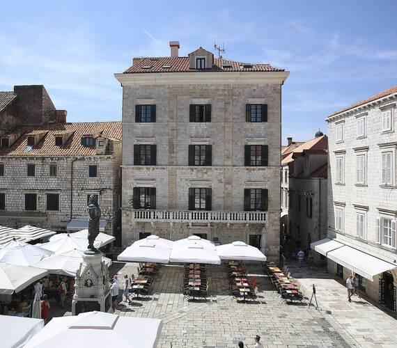 Pucic Palace Dubrovnik Croatie vue terrasse Adriatic Images