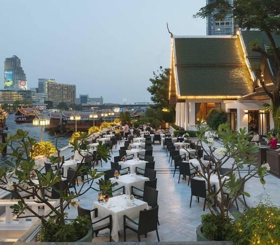 Bangkok Mandarin Oriental Terrasse