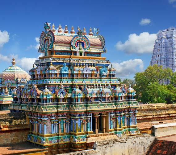 Madurai Temple Meenakshi photlook