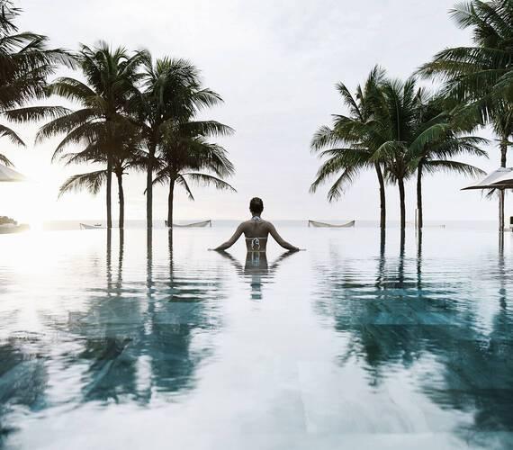 Tia Wellness Resort Vietnam Piscine