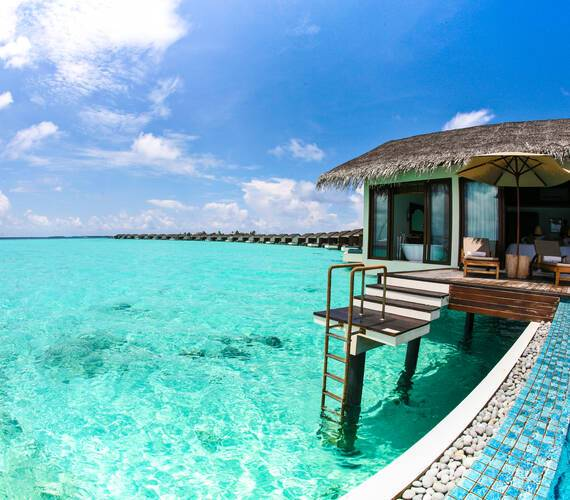 The Residence Villa Water Pool Maldives