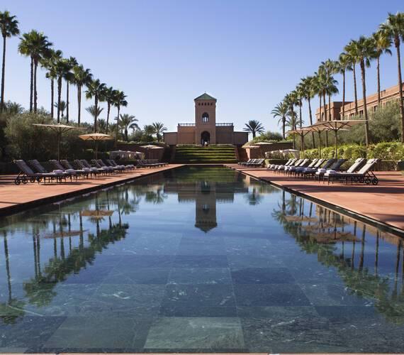 Selman Piscine Marrakech Maroc