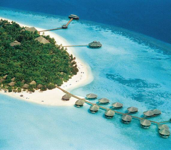 Kihaa Vue Aerienne MaldivesJPG