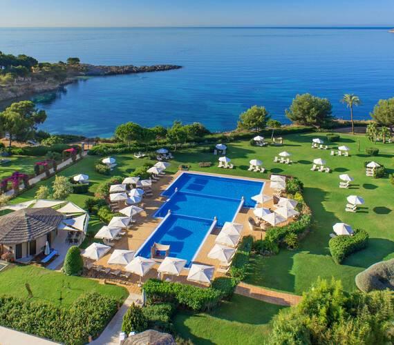 St Regis Mardavall Resort Majorque Vue