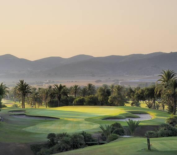 Manga Club Espagne exterieur vue golf