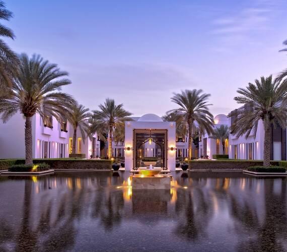 Chedi Muscat Oman Jardins