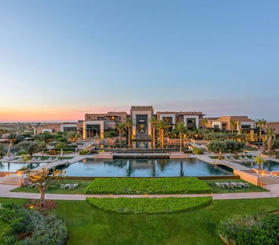 Fairmont Royal Palm Marrakech Vue