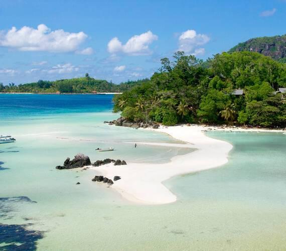Enchanted Island Seychelles vue