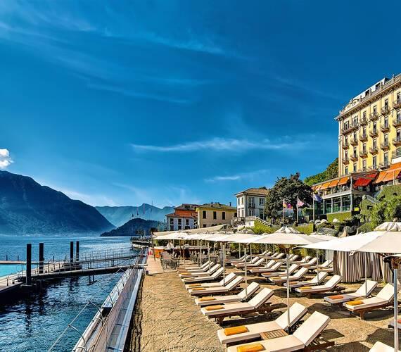 Grand Hotel Tremezzo Lac Come Plage