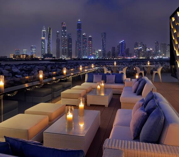One And Only The Palm Dubai Terrasse