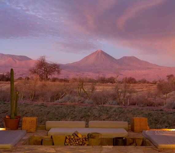 Tierra Atacama Chili vue