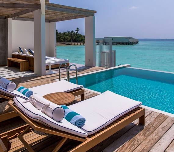 Amilla Maldives Resort Lagoon House Piscine