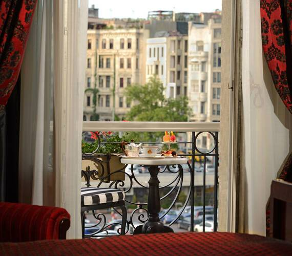 Pera Palace Agatha Christie Room Balcon Istambul