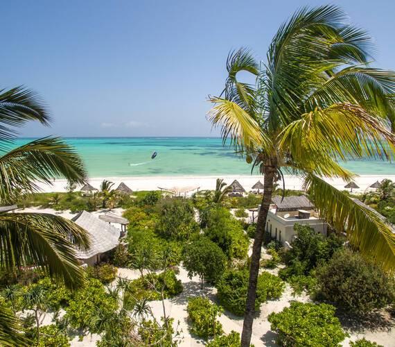 White Sand Zanzibar Vue