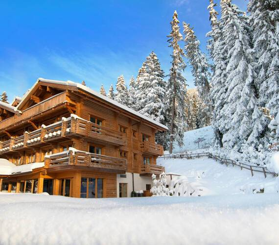 The Lodge Verbier Suisse Virgin Exterieur Hiver