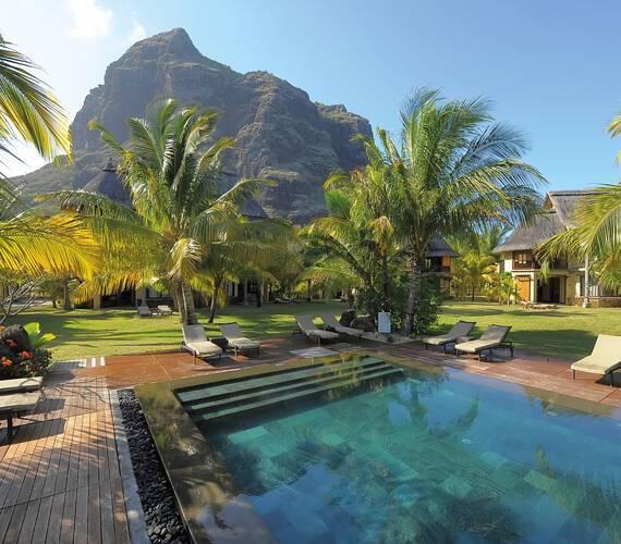 Dinarobin Beachcomber Piscine Maurice New Mauritius Hotels