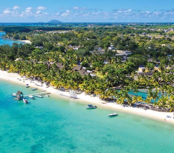Trou aux Biches Vue Aerienne Maurice New Mauritius Hotels