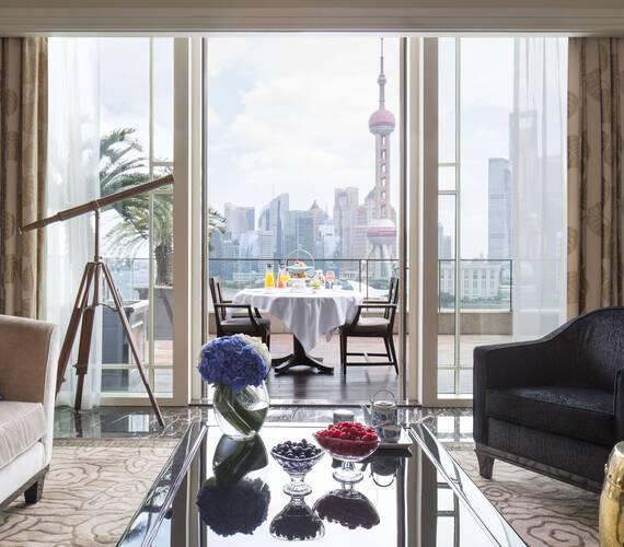 Peninsula Shanghai Astor Suite Living Room