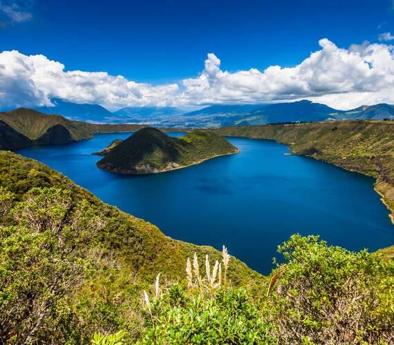 Cuicocha Reserve Equateur ecuadorquerido