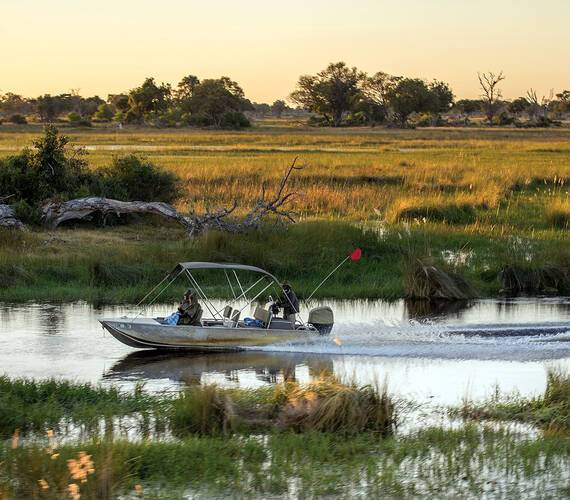 Belmond Eagle Island Lodge Okavango Safari Botswana