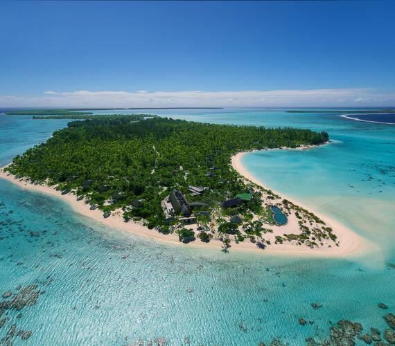 The Brando Vue Aerienne Polynesie Tetiaroa