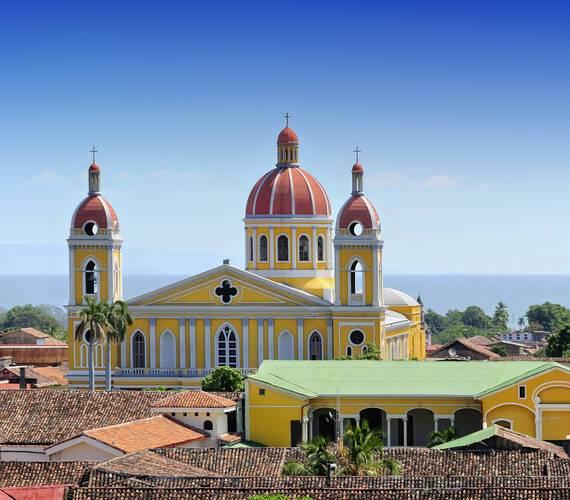 Circuit Nicaragua Granada Cathedrale Adobe Stock Photos
