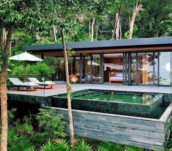 Six Senses Krabey Island Cambodge Ocean Pool Villa Suite2