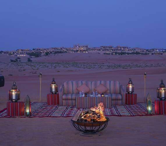 Abu Dhabi Anantara Qasr al Sarab Desert BBQ