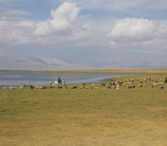 Circuit Kirghizistan Lac Song Koul