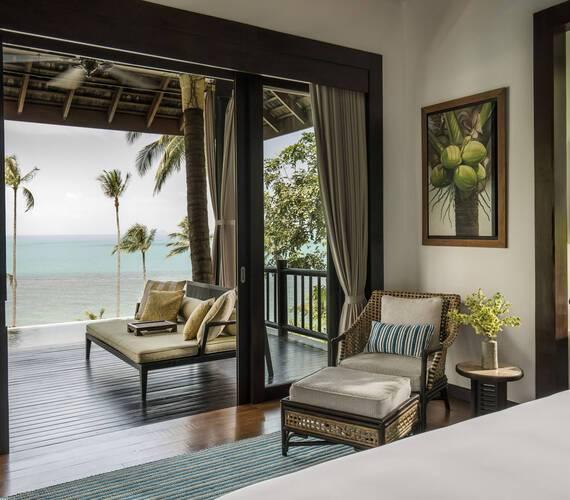 Four Seasons Koh Samui Thailande Chambre Vue