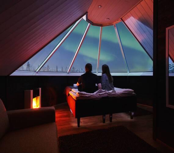 Apukka Resort Laponie Aurora Cabin