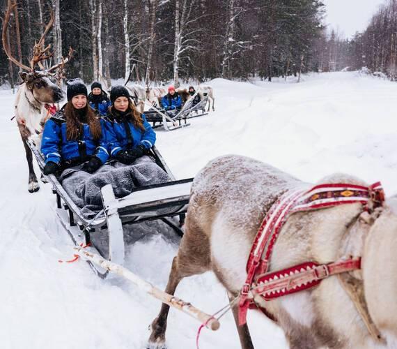 Apukka Resort Rovaniemi Finlande Balade Rennes