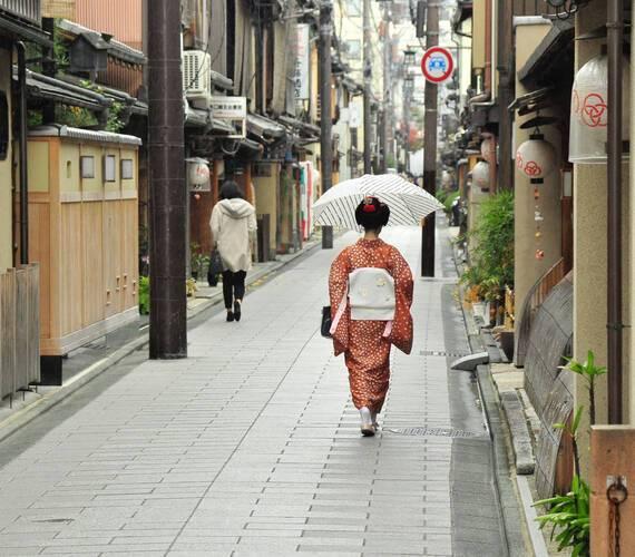 Circuit Japon Kyoto Gion boudewijn huysmans