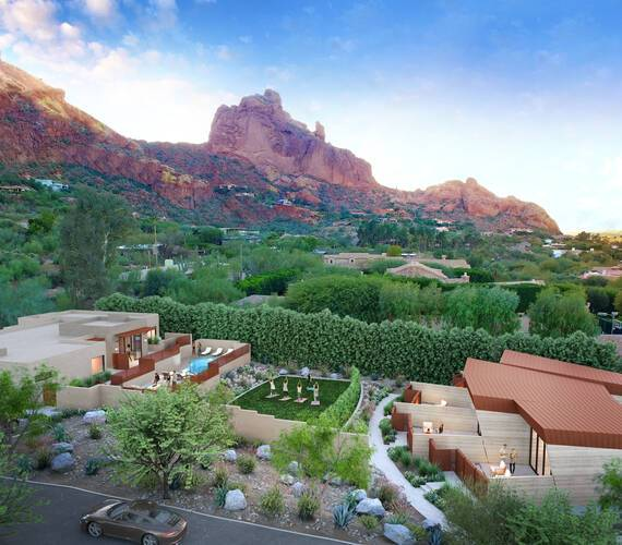CamelBack Mountain Arizona Spa Vue