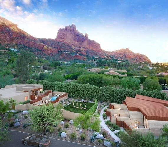CamelBack Mountain Arizona Spa Vue