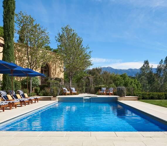 Ojai Valley Inn Resort Californie Casa Elar Piscine
